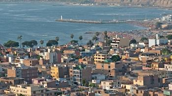 Tour panorámico privado de la ciudad de Lima, San Isidro y Miraflores