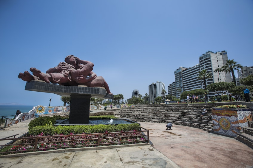 Show item 2 of 10. Private Panoramic City tour Lima, San Isidro & Miraflores