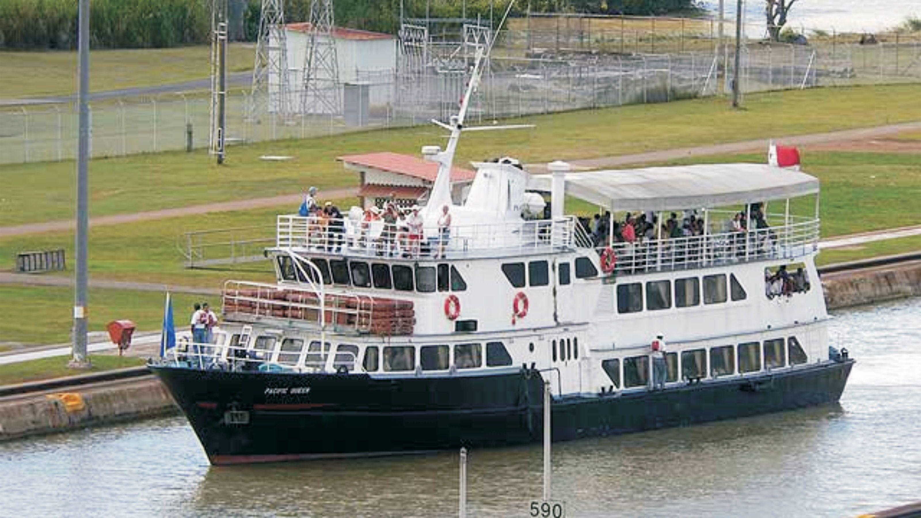 Partial Panama Canal Cruise through the Locks