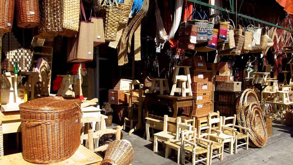 A small furniture shop seen during the Tigre Island Town Tour