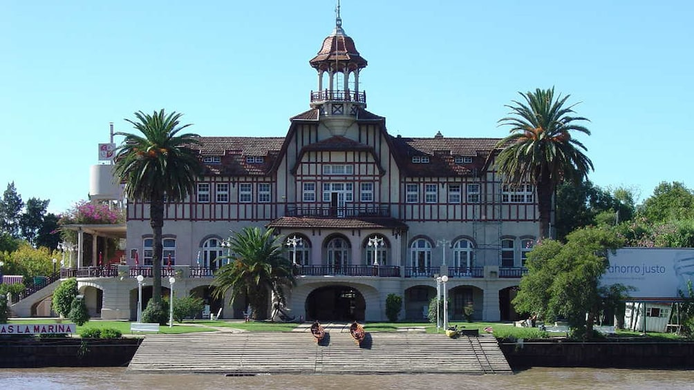 Stunning building at the Island Town of Tigre