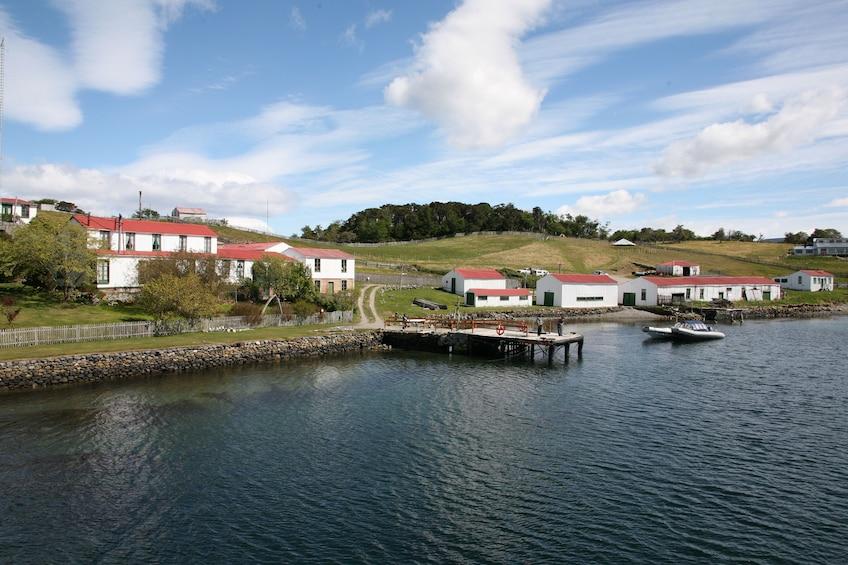 Beagle Channel Catamaran Ride to Penguin Island & Haberton