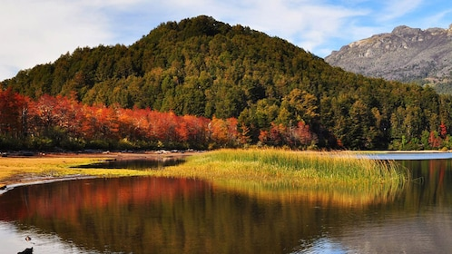 Explore Tierra del Fuego National Park and hike along Ensanada Bay to experience majestic views of the mountains.