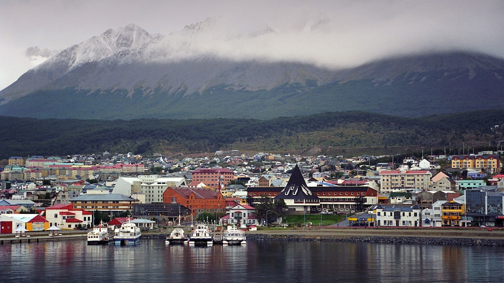 Take a guided tour through Ushuaia to explore the local community and enjoy views of the Andes mountains