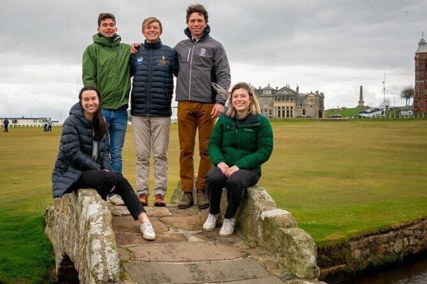 The Original St Andrews Photo Shoot Tour