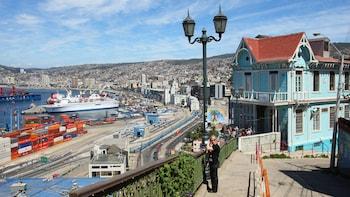 Die Küstenstadt Viña del Mar und das historische Valparaíso