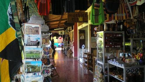 Indoors street market in Guanacaste