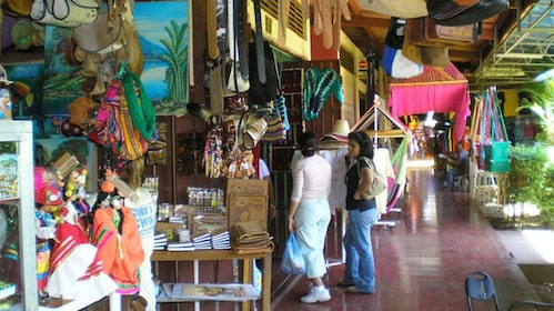 Visiting the local street market in Guanacaste
