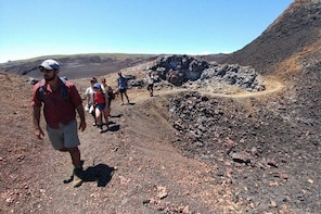 Walking Tour to Sierra Negra volcano and Chico Volcano from Isabela Island