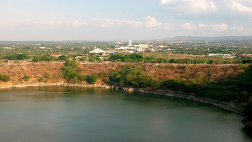 The city of Managua from the water