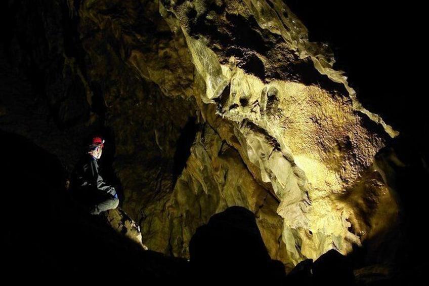 Show item 8 of 8. Canmore Caving Explorer Tour