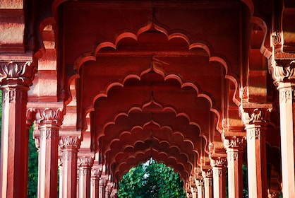 Arcade at the Red Fort, Delhi, India_shutterstock_231496198.jpg