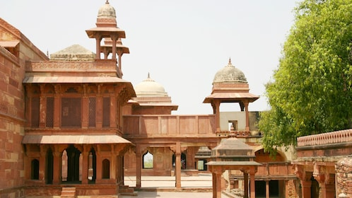 A historical site in India