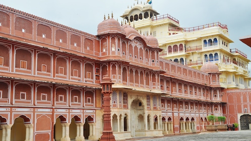 Stunning view of the City Palace in Jaipur