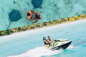 Bora Bora Jet Ski Tour, Lunch at Bloody Mary's & Eco Shark / Ray Snorkel Cr...