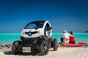 Full-Day Private Bora Bora Electric Car Hire