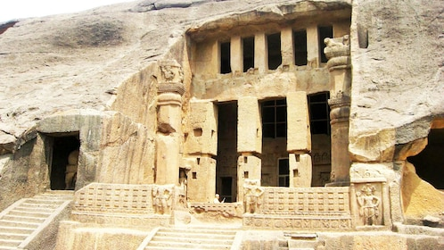 Entrance to the Kanheri Caves