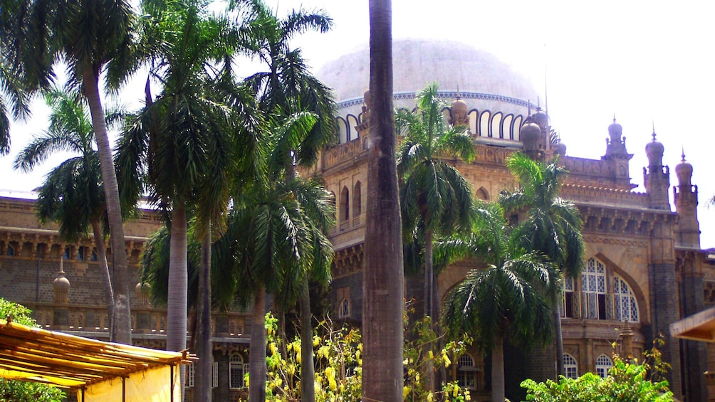 Show item 3 of 6. View of large domed temple in Mumbai