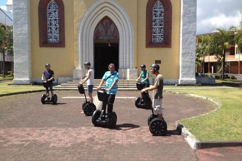 Show item 1 of 2. Discover Papeete by Segway