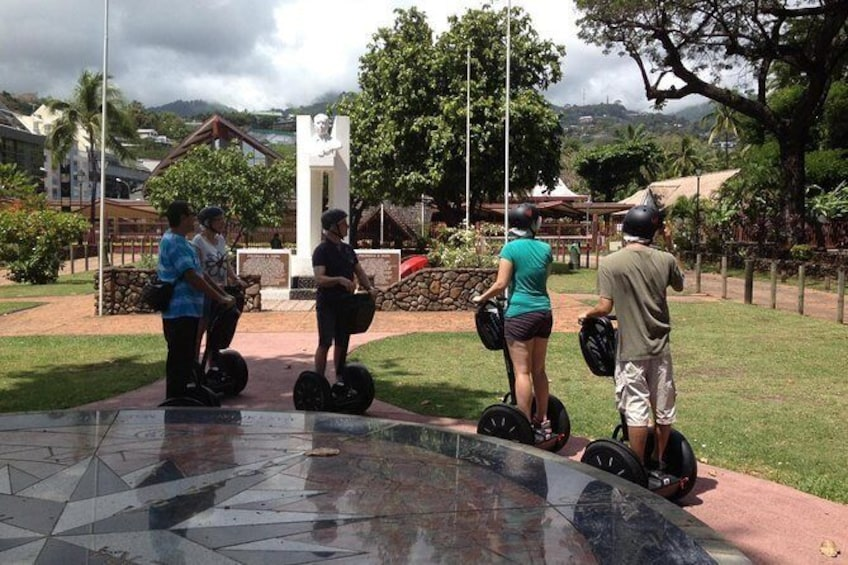 Show item 2 of 2. Segway Papeete monument