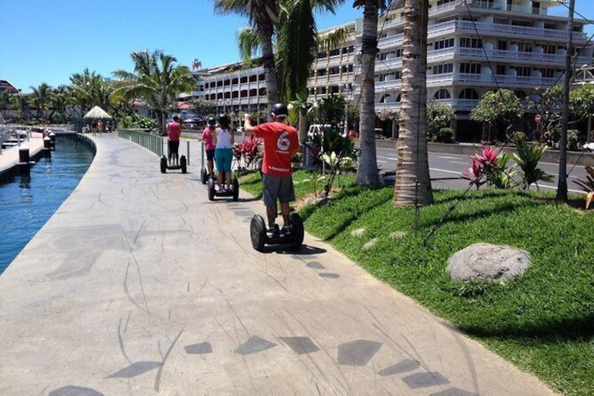 Show item 1 of 10. Papeete's Waterfront Segway Tour