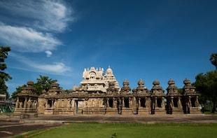 Mahabalipuram & Kanchipuram Private Full-Day Tour with Lunch