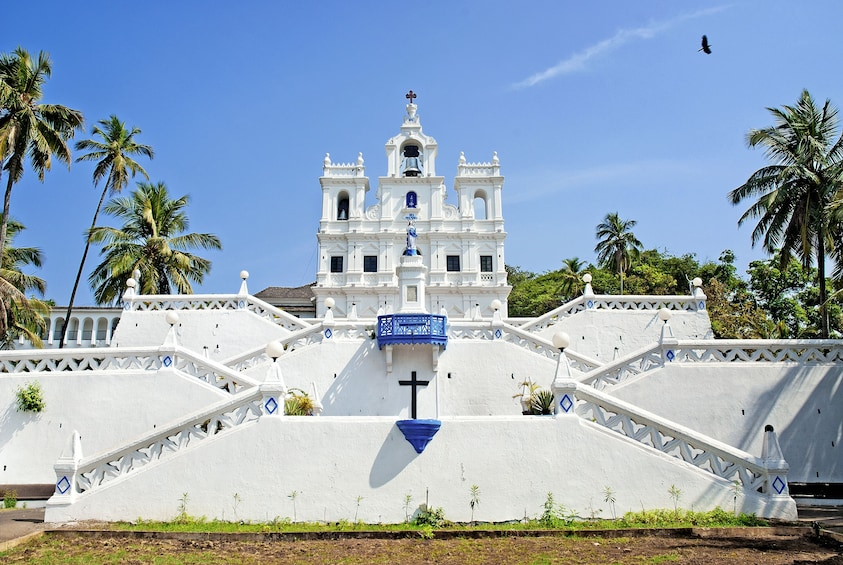 Show item 2 of 8. Panjim & Old Goa Private Half-Day Tour