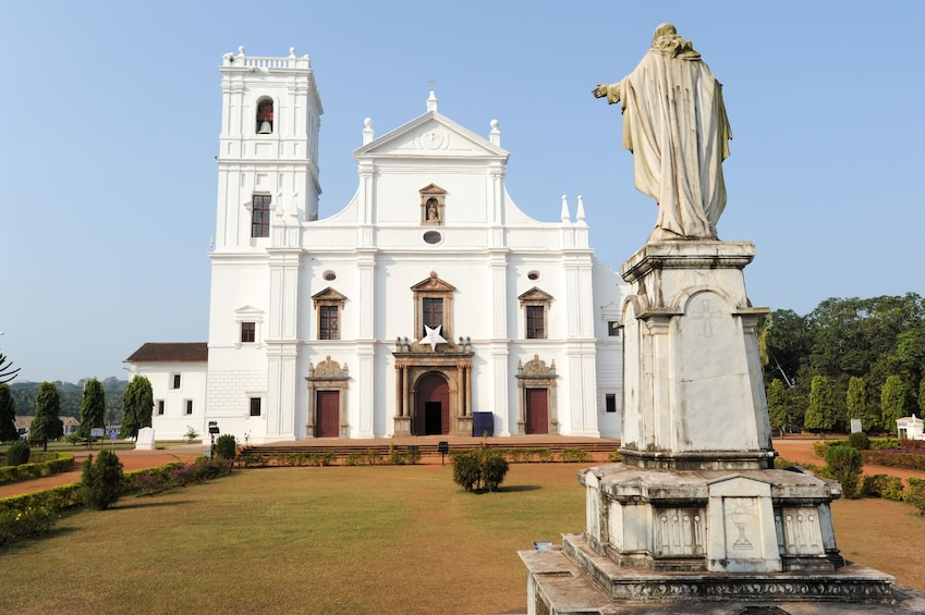 Show item 5 of 8. Panjim & Old Goa Private Half-Day Tour