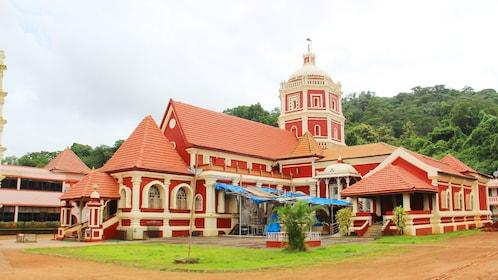 visiting the Shri Shantadurga Temple in Goa