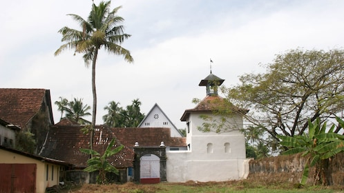 View of the The Mattancherry Dutch Palace in Kochi