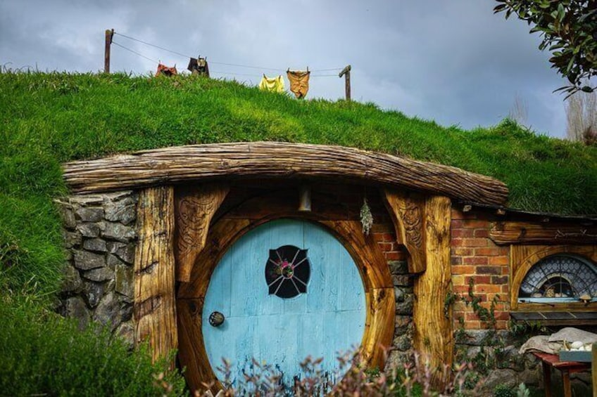 Show item 4 of 9. Small group tour from Auckland to Hobbiton Movie Set in a Luxury Van