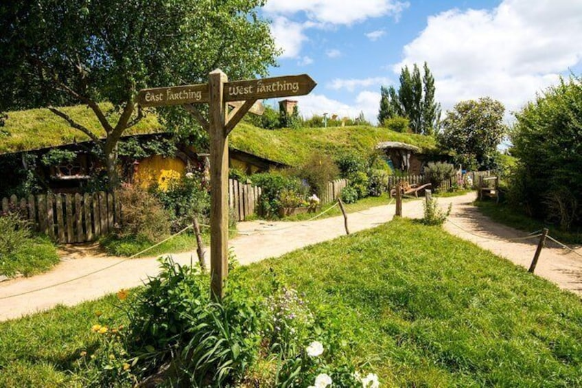 Show item 1 of 9. Small group tour from Auckland to Hobbiton Movie Set in a Luxury Van