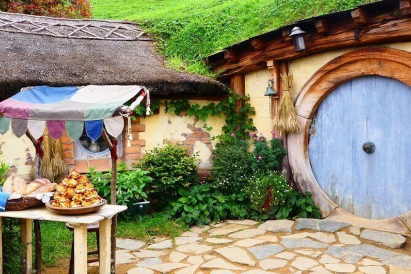 Show item 3 of 9. Small group tour from Auckland to Hobbiton Movie Set in a Luxury Van