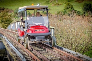Rail and River Run - Rail Cart and Jet Boat Tour