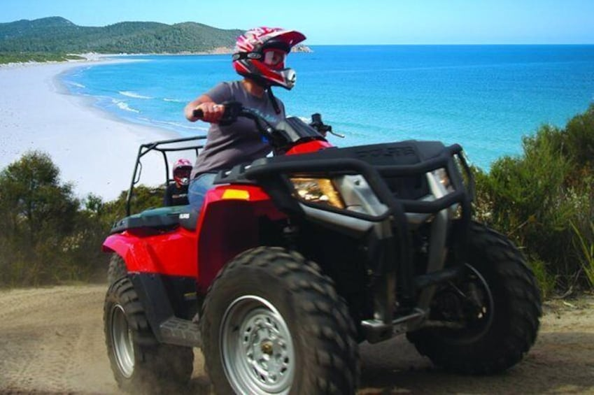 Show item 1 of 6. Half-Day Guided ATV Exploration Tour from Coles Bay