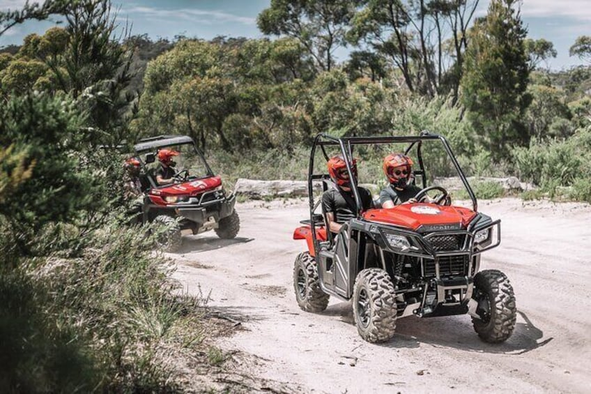 Show item 3 of 13. Half-Day Guided ATV Exploration Tour from Coles Bay