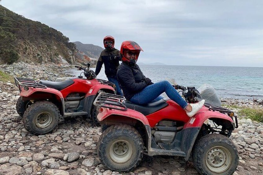 Show item 5 of 6. Half-Day Guided ATV Exploration Tour from Coles Bay