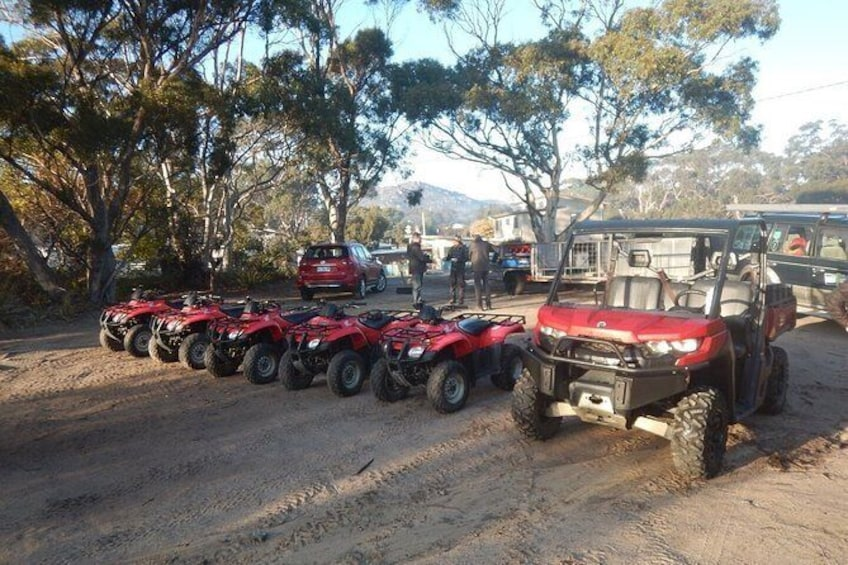 Show item 4 of 6. Half-Day Guided ATV Exploration Tour from Coles Bay