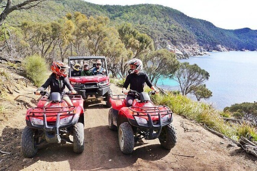 Show item 1 of 7. Quad Bike 2-Hour Adventure: Freycinet National Park