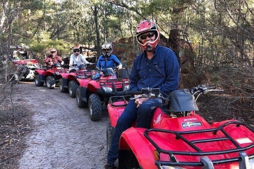 Show item 5 of 7. Quad Bike 2-Hour Adventure: Freycinet National Park