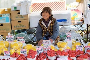 Experience the energy of Kochi: Sunday Market Tour includes Kochi Castle