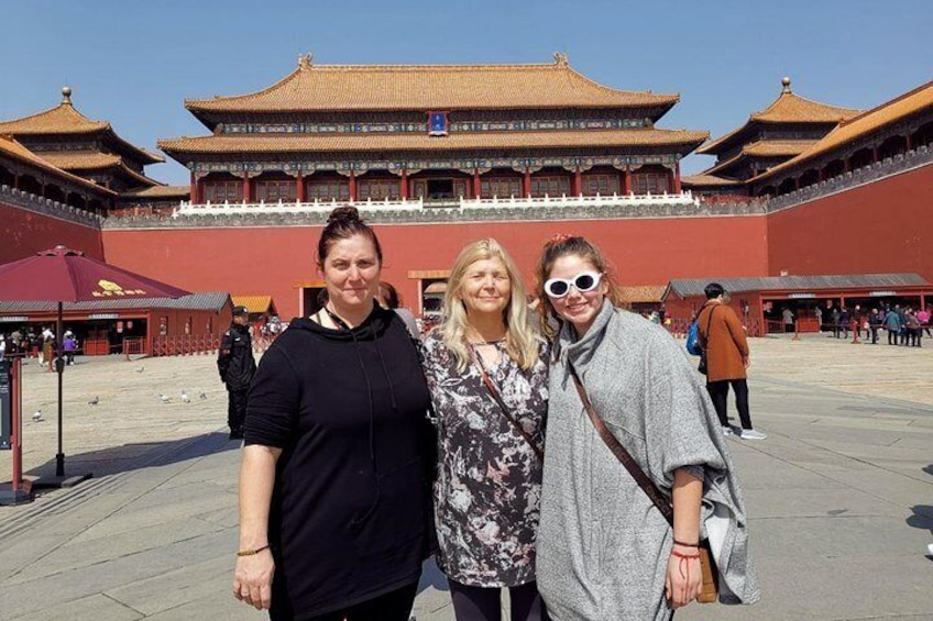 The Meridian Gate of Forbidden city