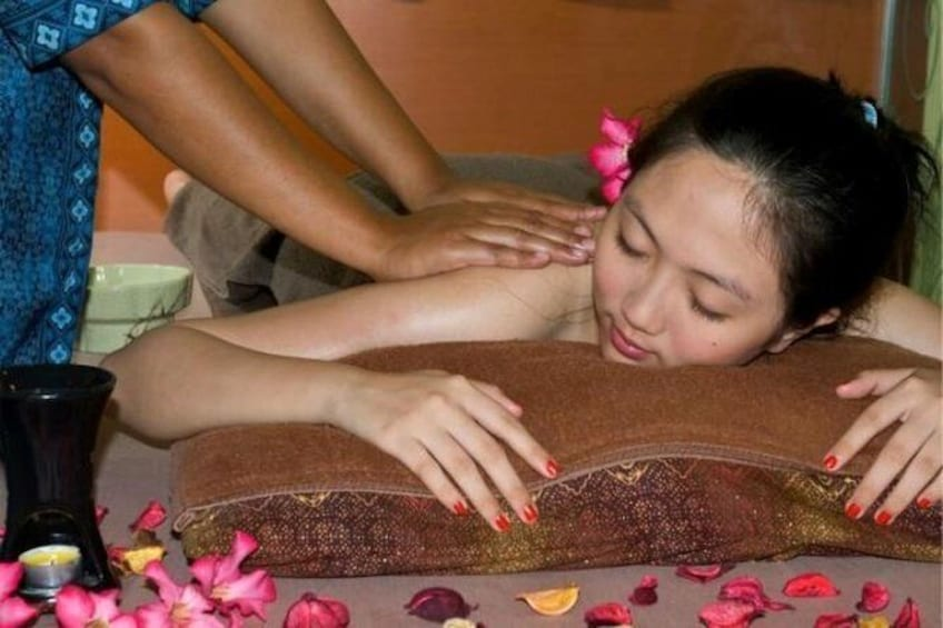 Show item 2 of 2. Traditional Indonesian massage