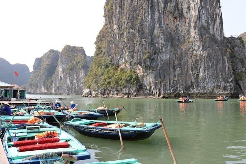 Bamboo Boat Activity