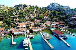 Private Kekova Sailing Day Tours from Kas Marina