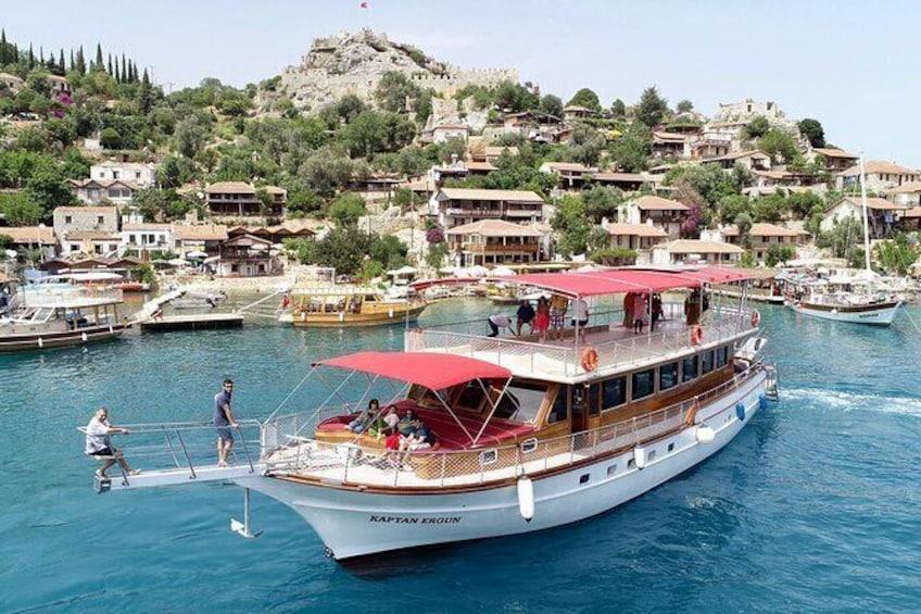 Shared Sunken City of Kekova Boat Tour including lunch