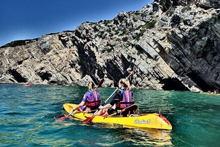 Show item 1 of 7. Sesimbra Discovery by Kayak