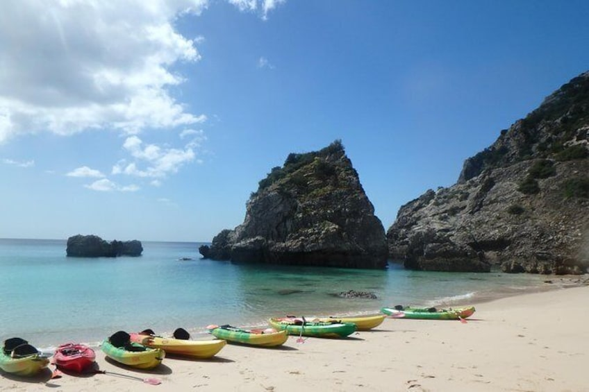 Show item 2 of 7. Sesimbra Discovery by Kayak