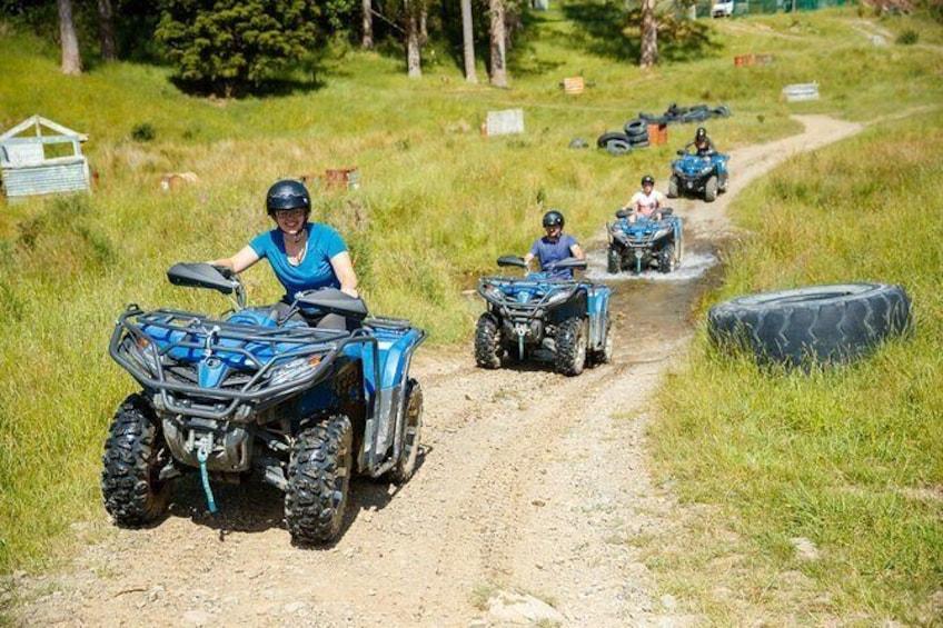 Show item 5 of 5. Quad Bike - Farm Forest Ride