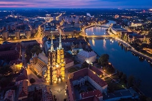 Famous Islands of Wroclaw - Cathedral Island and Sand Island